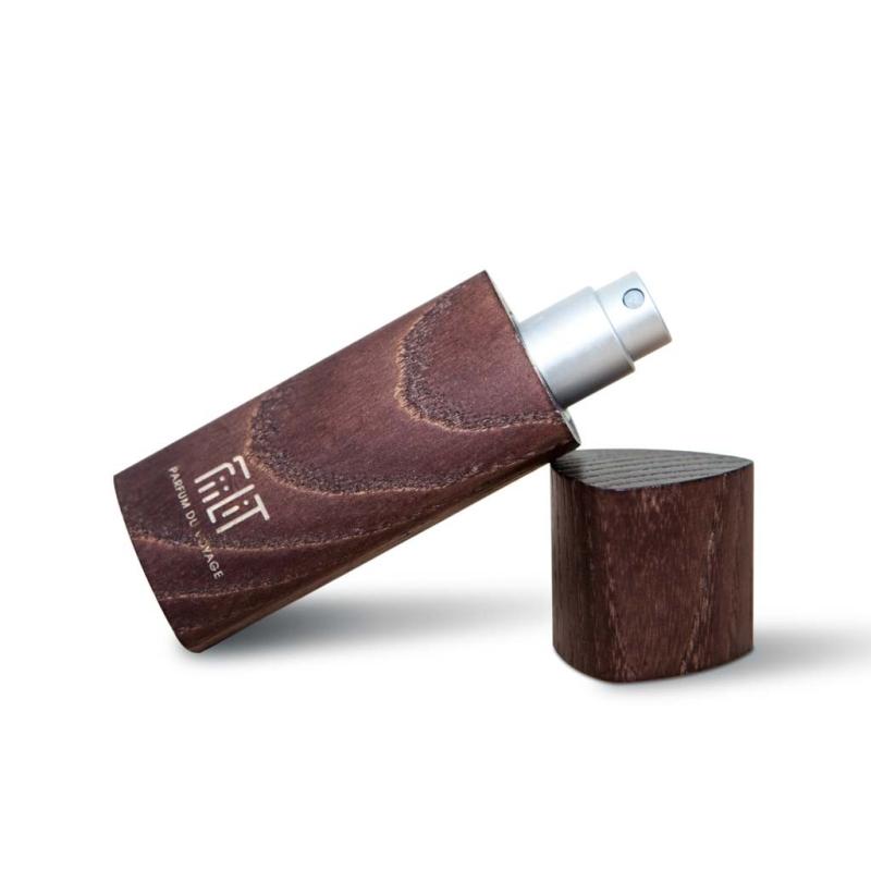 Eau de Parfum TUMBAO - CUBA avec son écrin de bois