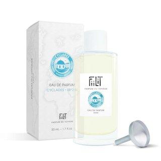 Recharge 50 mL Eau de parfum Cyclades 38°3'N FiiLiT Parfum du voyage