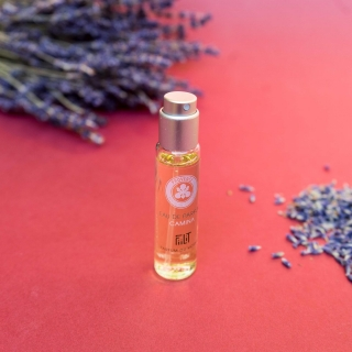 Eau de Parfum CAMINA - PROVENCE 11mL recarga / COSMOS NATURAL certified by Cosmécert according to COSMOS Standard